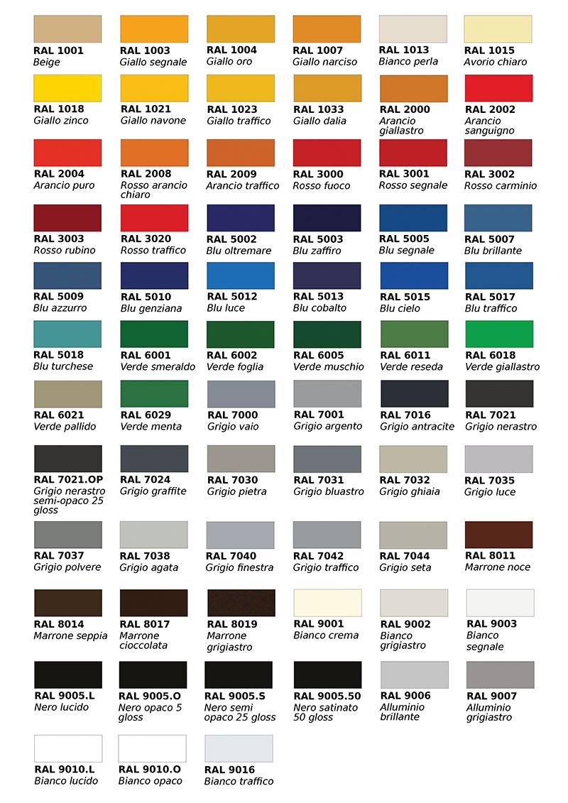 Tabella colori legno cool tabella colori legno with for Pareti avorio perlato